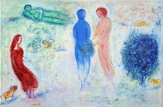 Marc Chagall Daphnis and Chloe 8