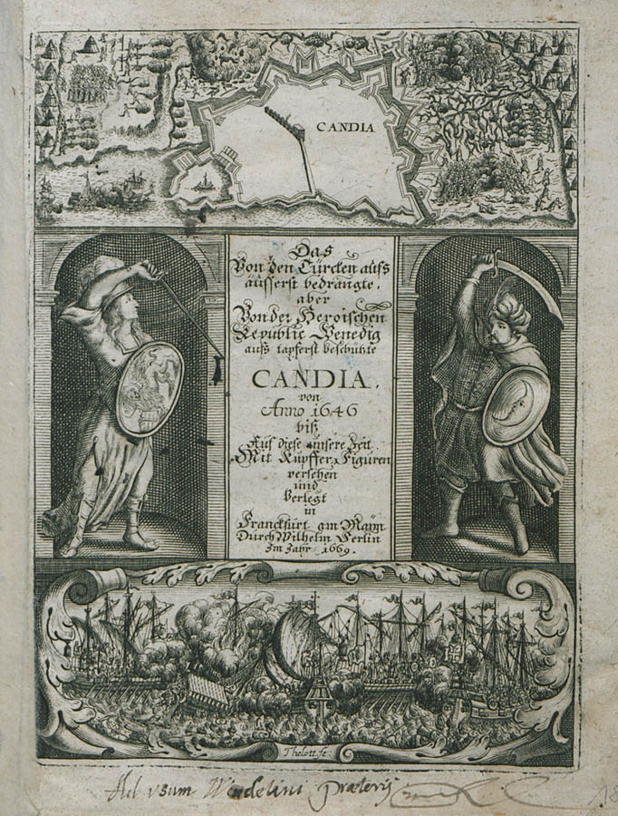 candia map 1669