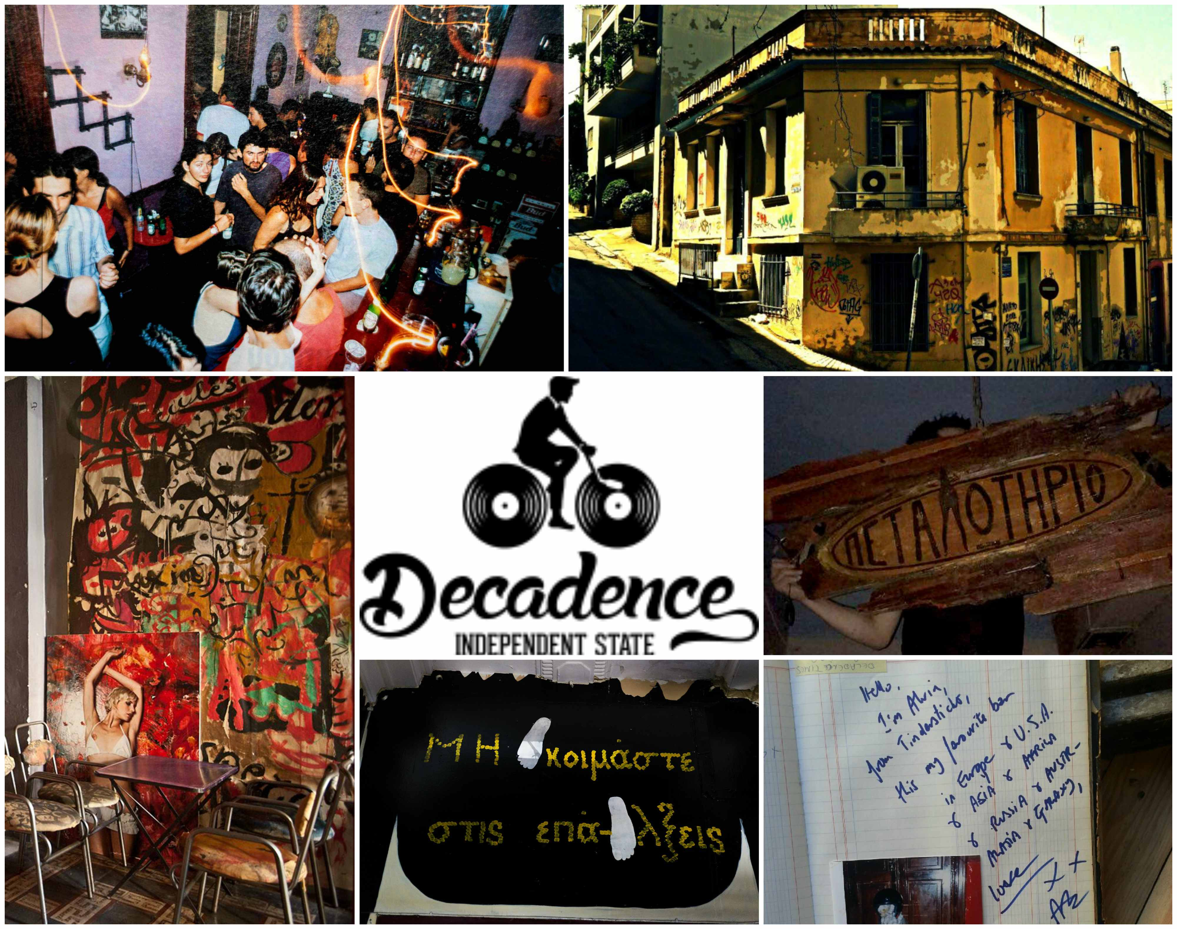 decadence collage