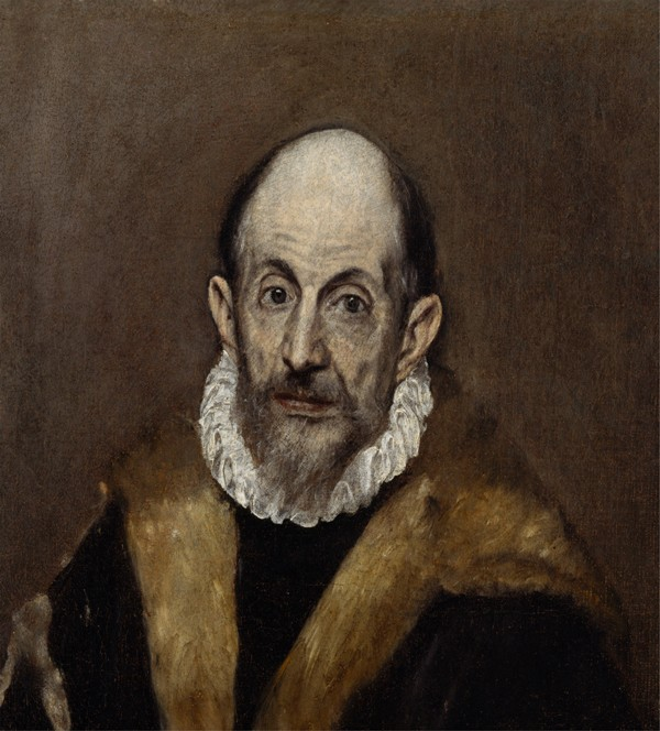 El Greco Portrait of a Man WGA10554