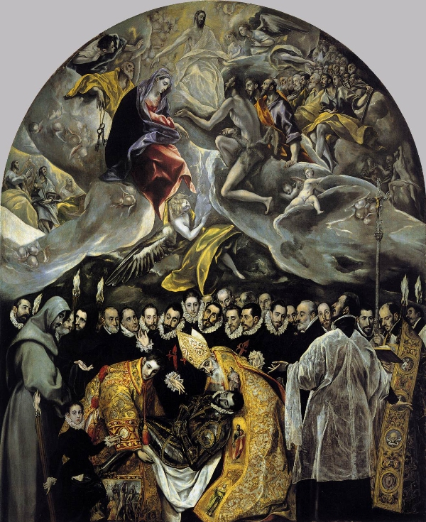 El Greco The Burial of the Count of Orgaz