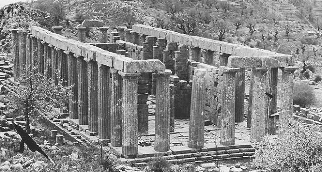 Gr Ce Hebdo Un Temple Perdu Dans Le Paysage Arcadique