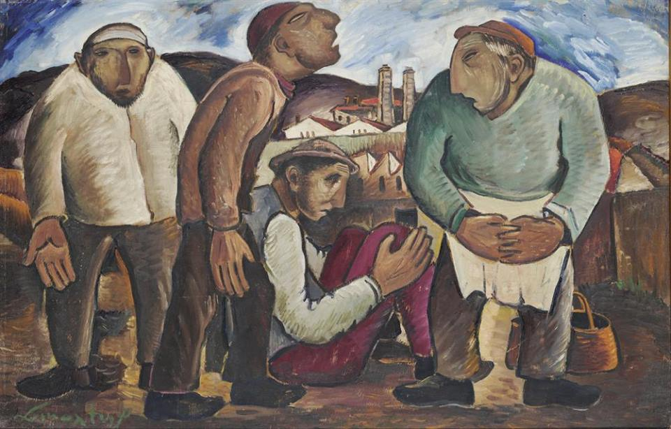 sikeliotis workers National Gallery Alexandros Soutzos Museum Athens Greece